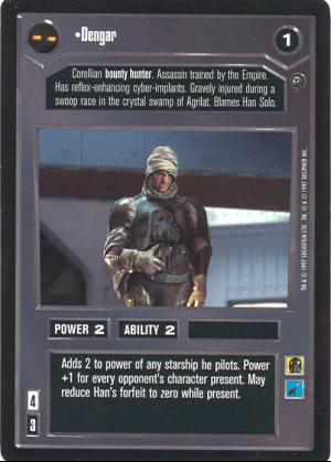 Star Wars CCG Dagobah Rare Cards 2//3