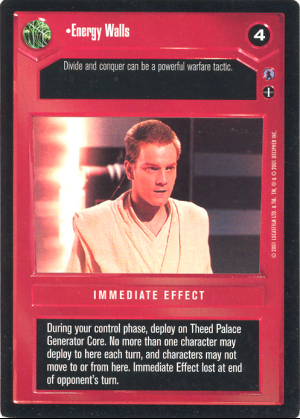 Star Wars CCG Reflections III Dark Rage
